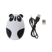 2017 Wireless Optical Panda Computer Mouse Fit For Windows/Vista/Linux/Android/Mac - L057 New hot(China)