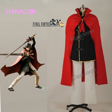 Final Fantasy Type 0 Cosplay Machina Cosplay Caballero Conjunto Completo Uniforme Traje de Halloween Juego Cosplay Personalizado