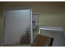 Joy 25*32cm  Large silver Bubble Mailers Mailing Envelope bags, silver padded bubble envelopes
