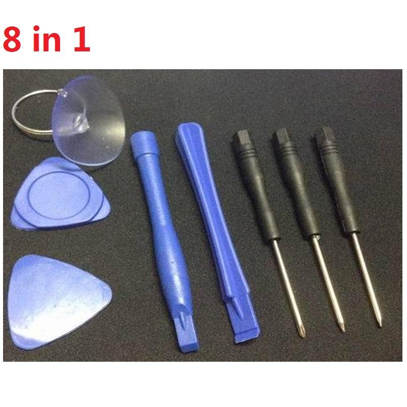 Universal 8 pcs/set cell phone repair tool set Opening Pry mobile phone repair tools Kit For iPhone 6 plus 6 5S 5 4S