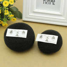 2017 New Sponge Hair Tools Ball Shape Hair Tie Hair Accessories New Womens Girls Hair Donut Bun Ring Shaper Styler