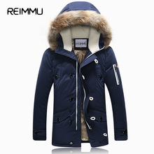 2016 Winter Brand Men Down Jacket Fur Hood With Cashmere Plus Size XXXL Winter Jacket High Quality Fashion Men's Coat Hot Sale