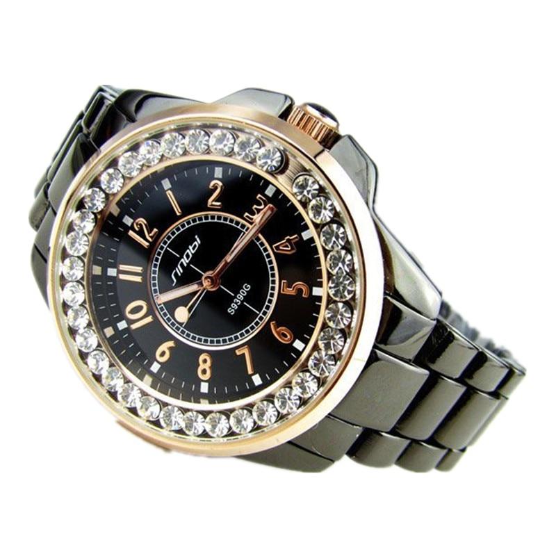 SINOBI Luxury Rhinestone Women Watches Full Steel Ladies Watch Women Hour Quartz Clock montre femme relogio feminino reloj mujer<br><br>Aliexpress