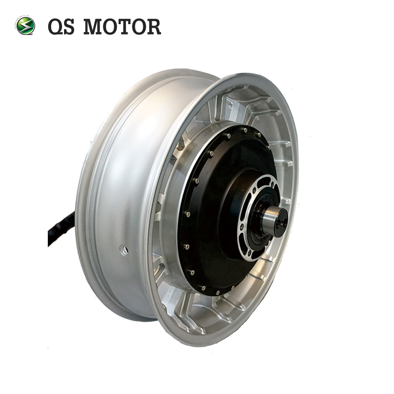 QS 17X4.5inch 4000W 273 45H V2 72v Brushless DC Electric Scooter Wheel Hub Motor QS MOTOR Electric hub motor
