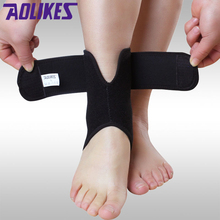 AOLIKES 1PCS Ankle Brace Support Sports Adjustable Ankle Straps Foot Deportivas Golenostop Compression Ankle Socks Protector