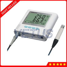 S500-EX High precision USB Data Logger Temperature Humidity with Recording LCD display Thermo Hygrometer Meter