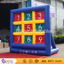 Hot sales PVC Tarpaulin outdoor toys inflatable games made in China