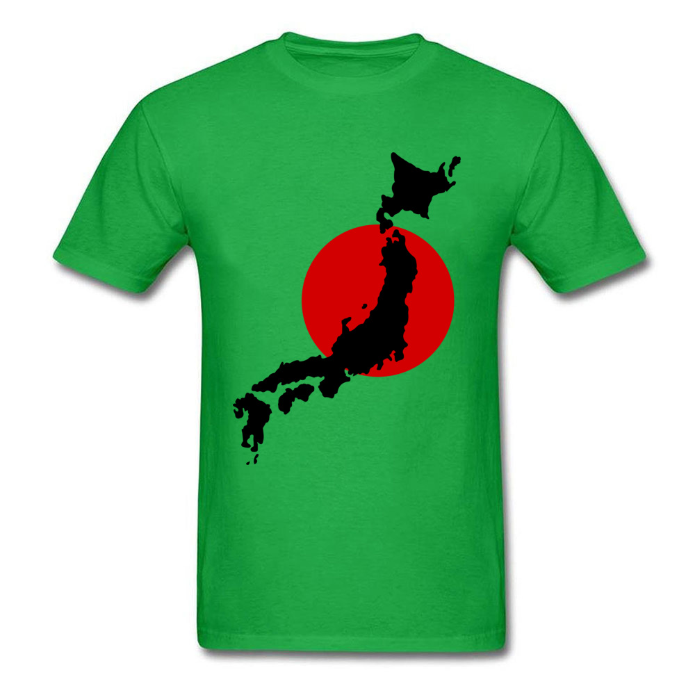 Japan Graphic Normal Summer Cotton Round Neck Men Tops Tees Birthday T Shirts On Sale Short Sleeve Tshirts Drop Shipping Japan Graphic green