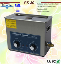 Globe free shippingPS-30 AC110/220v 180W heater&timer Ultrasonic cleaner 6.0L 40KHZ electronic partsRussia warehouse in stock(China)