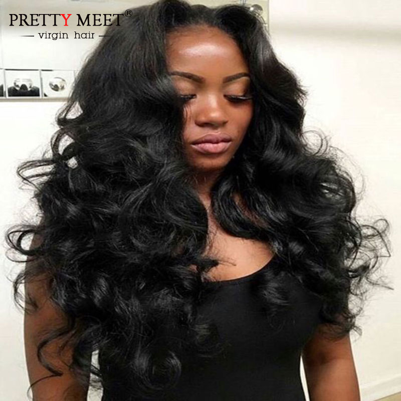 Pretty Meet Grade 6A Unprocessed Virgin Hair 4 Bundles Malaysian Virgin Hair Malaysian Body Wave Hair Style Body Wave Hair<br><br>Aliexpress