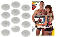 DHL/fedex freeshipping 300 pairs(600 pcs!)Button Massager Pads for Electronic Muscle Toner Fitness System Body Massager(China)