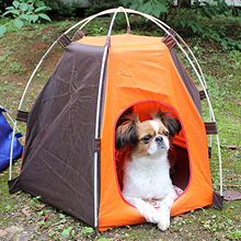 Portable Folding Camping Pet Dog Cat Tent House Shelter Moisture Proof UV Protection for Indoor Outdoor