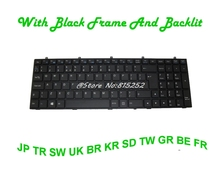 With Backlit Keyboard For Gigabyte P16G P17F R5 V2 V3 V5 V7 Japan JP Korea KR Brazil BR United Kingdom UK Swiss SW Turkey TR(China)