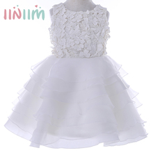 2017 Summer Flower Girls Dress for Wedding Party Dresses Children's Toddler Gowns Bridesmaid Clothing Kids Princess Dresses