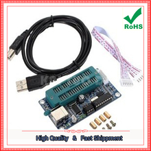 Free Shipping 2pcs PIC Programmer / PIC K150 Programmer Downloader USB Blue (H5B2) 0.3KG(China)