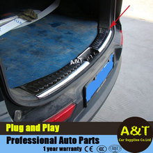 A&T car styling For KIA SportageR Stainless steel trunk protection board For 2010-2015 Sportage R Rear guard protection padel Ca