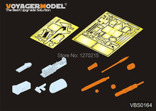 Voyager 1:35 Modern US M256 120mm M1 Abrams Gun Barrel with M2 Browning VBS0164 (For DRAGON 3535/3536)(China)