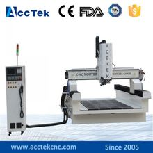 jinan woodworking 4th axis cnc router&wood cnc machines&4 axis cnc router 1325