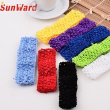 Stylish 10pcs/lot Lovely    girls Crochet Headbands Assorted Variety Pack Hairbands for   hair accessories