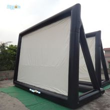 6x4m giant projection movie inflatable film screen from YARD factory(China)