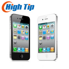 Free gift! 100% Factory Original Unlocked Apple iphone 4G 8GB/16GB/32GB Cell phone 3.5 inch GPS WIFI 5MP 1 year warranty