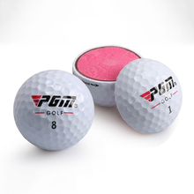 High Quality Three Layers Golf Balls Beginner Indoor Outdoor Practice Training Balls Golf Accessories Best Gift for Friends