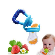 Hot Selling Safety Baby Bottle 4 Color S M L Non-Toxic Silica mamadeira  Fresh Food Nibbler Feeder Baby Nipple Feeding Must-tool