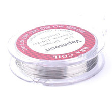 5m/roll 24g 26g 28g Resistance wire Titanium Heating Wires for DIY RDA RBA RDTA Atomizer Coils Vaporizer Coil Wire - 15 feet(China)