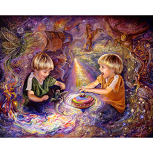 DIY 5d Diamond embroidery Abstract painting boy resin rhinestone cross stitch bead pattern 3D puzzle picture HL258