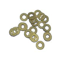 Sy tools profession handle Knife DIY tools DIY material folding blade knife Brass washers shim 10 pieces 3 size(China)