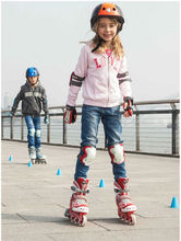 free shipping roller skates safety average size adjustable plastic steel