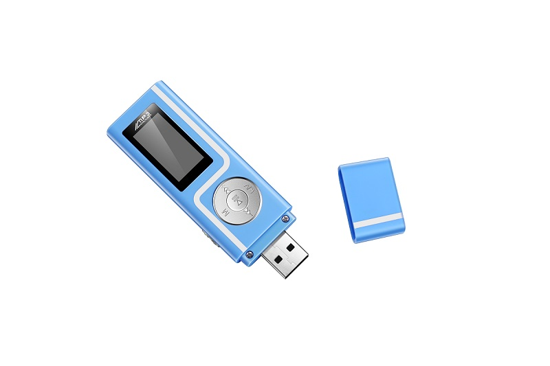1GERUIDA MP3 Player Faster Charge USB MP3 Mini Music Player Also U Disk 2G4G8G With FM Recording E-Book OTG Lanyard  (2)