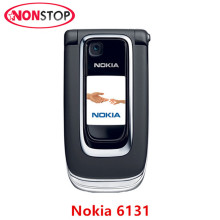 Unlocked 6131 Original Mobile phone Nokia 6131 Cheap GSM Camera FM Bluetooth Good Quality Flip Phone(China)