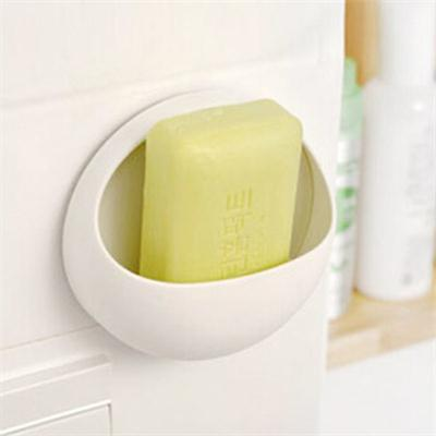 Cute Eggs Design Soap Dishes Toothbrush Holder Cup Wall Mount Sucker Toothbrush Holder Suction Hooks 1PCS