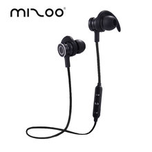 MIZOO Sport Bluetooth Earphone Portable Headphones Mini Wireless Earbuds Hand free Headset Ear Hook With Mic For Smart Phone