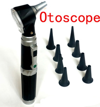 Ear Check Pen light Medical Flashlight Pen Ear Clean Tools Otoscope Diagnostic Set Ear Care Products(China)