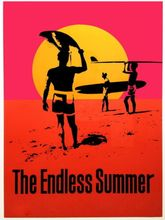 The Endless Summer Movie- Art Wall Decor Fabric Poster P8333