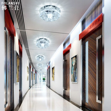 NEW lamp hole room lamp 3W2017 1PC LED corridor lamp porch lamp crystal ceiling ZCL(China)