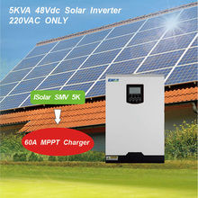 Axpert VM5000 48 Voltronic Power Same type 4000W 48V 220V 60A MPPT Solar Inverter Pure Sine Wave Inverter(China)