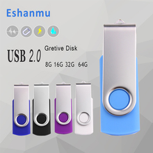 Hot selling USB flash drive colorful swivel 2gb 4gb 8gb 16gb32gb64gb cheapest price USB 2.0 flash drive pen drive memory stick