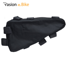 PASION E BIKE Electric Bicycle Triangle Battery Bag Black Bicycle Frame Triangle Bags(China)