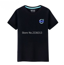 Summer Volvo short-sleeved T-shirt male cotton round neck car 4s shop tooling uniforms T shirt