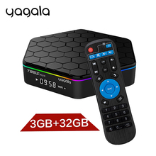 T95Z Plus Android TV Box Amlogic S912 Octa Core 3gb 32gb Dual WiFi 1000M Lan Android 7.1 3D 4K Media Player PK X96(China)