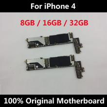 Original Motherboard Full Unlocked For iPhone 4 Good Working Mainboard With Full Chips IOS Installed Logic Board
