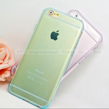 6/6S Ultral-thin Silicone Transparent Case For iphone 6 6S Phone Cover For iPhone6 Cases Shell 2017 Top Fashion Best Choose New