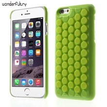 Wonderfultry For Apple iPhone 6s Cover Reduce Stress Novelty PoP Sound Bubble Wrap Case Shell for iPhone 6 6s Interesting Gadget