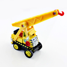 Kids thomas and friends trains trackmaster Crane cars Kevin magnetic Diecast model alloy metal models the train mini toys baby