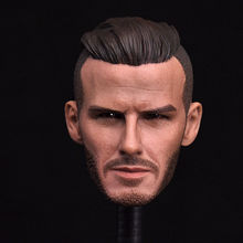 1/6 David Beckham Head Sculpts Football Star Carved For 12'' Male Figure Body(China)