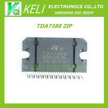 Free shipping 20pcs/lot TDA7388 7388 ZIP25 Car audio power amplifier chip