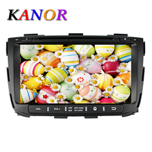 KANOR 1024*600 Android 5.1 Quad Core Car DVD For KIA Sorento 2013 GPS Navigation Multimedia System With Cassette Player WIFI Map(China)
